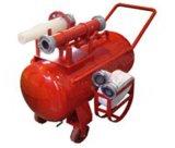 厂家直销浙江消防强盾PY半固定式泡沫灭火装置
