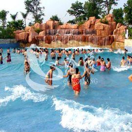 厂家直供受欢迎水上乐园设备-鼓风造浪