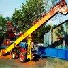 河沙铲运装车机 柴油机动力装运机