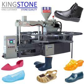 金磊圆盘式单双色塑胶鞋类射出成型机