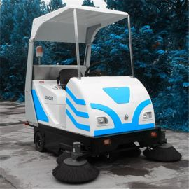 河南小林牌电动扫地车XLS-1750,矿厂、工厂、物业地面清扫设备