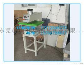 下移动气压双工位压烫机 服装压胶机 皮革压印机 气动烫画机