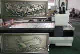 鋁板背景牆精雕機 鋁板浮雕雕刻機