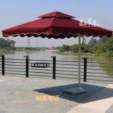 慕思萊藤家具供應MS-03單邊太陽傘 邊柱傘 廣告遮陽傘