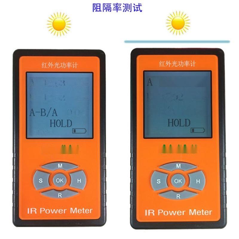LH-129NVIS輻射強度夜視燈測試儀威固魔鏡紅外能量計太陽膜測試儀