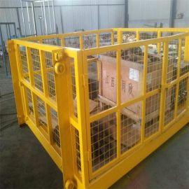 厂家直销液压导轨式升降机 货梯 厂房简易升降平台