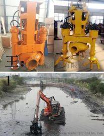 标配挖机吸沙泵_耐磨液压泥沙泵_搅拌挖机抽沙泵