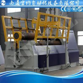 四辊卷板机送料平台 卷板机送料架 卷板机维修