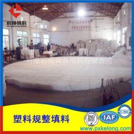 塑料聚丙烯孔板波纹填料用于烟气超低排放脱硫塔