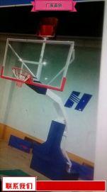 钢化玻璃篮板篮球架奥博厂家 钢化玻璃篮球架特价