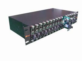 光纤收发器机架(NT-R16-2-A)