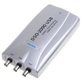 接电脑笔记本DSO-2090虚拟示波器