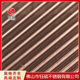 不锈钢激光加工厂家_红古铜不锈钢木纹板厂家