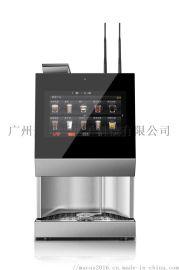 商用桌面带电子支付全自动现磨咖啡机,液晶显示