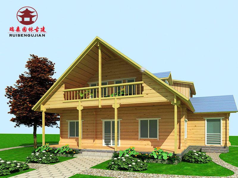 自貢木屋廠家,防腐木木屋定製安裝
