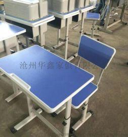 钢木学习桌升降课桌椅预防学生近视眼驼背