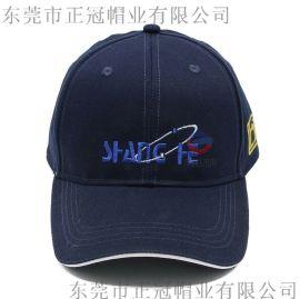 厂家直销订做全棉质电绣鸭舌帽 广告宣传棒球帽定制