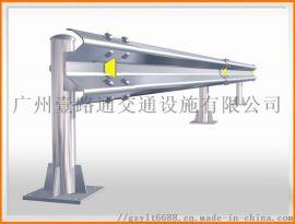 标准4米长镀锌波形护栏 高速公路护栏