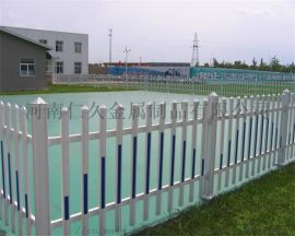 草坪塑钢护栏绿化带pvc栅栏小区隔离防护围栏