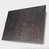黑色木纹冲压板不锈钢板 304不锈钢冲压压花板