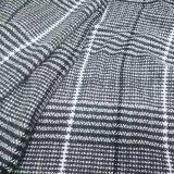格子单面羊绒布格子面料格子服装编织呢大衣布料呢子