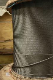 6*19光面鋼絲繩 行車塔吊電動葫蘆起重鋼絲繩