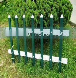 现货 房地产草坪隔离防护栏 表面光洁装饰美化装饰塑钢护栏
