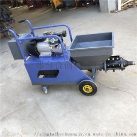全自动农村小型喷涂机使用步骤