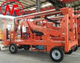 车载自行式折臂升降机  车载式高空作业平台