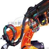 机器人管线包附件支撑架(第六轴)钢制镀锌材质