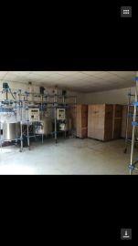**二手200L双层玻璃反应釜、实验室用反应釜