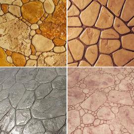 供应宣威市艺术装饰混凝土 压花地坪原料 水泥压花