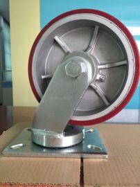 厂家直销超重型铁芯PU轮  美式PU轮  滚针轴承