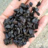 廠家供應 水磨石 黑色碎石 黑色鵝卵石 膠粘石