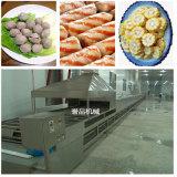 小龙虾蒸煮加工流水线不锈钢连续式玉米蒸煮机