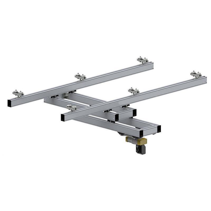 智能提升机配铝合金轨道、铝合金悬臂吊、铝合金框架吊