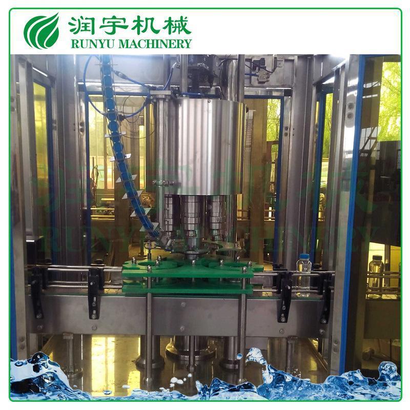 张家港润宇机械厂家8头压盖机食品饮料啤酒易拉罐塑料盖封口机