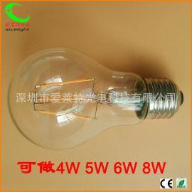 LED燈絲燈4W A60 E27 led燈絲球泡燈 鎢絲燈 不調光
