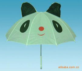 儿童雨伞广告伞、可爱造形儿童伞促销赠品伞