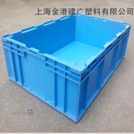 供应 HP-5B塑料物流箱 550*365*165  塑胶周转箱 汽车配件周转箱