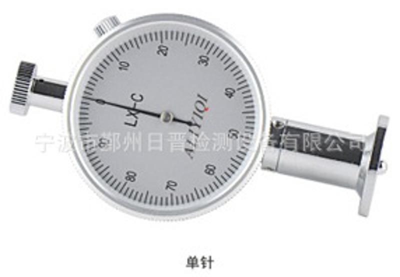 LX-C邵氏硬度计/测试台 邵氏C型邵氏硬度计微孔材料硬度厂家直销