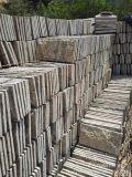 批量生产河北蘑菇石红砂岩文化石文化砖