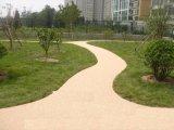 透水地坪價格 彩色混凝土路面藝術地坪材料海綿城市廠家直供 本色透水混凝土