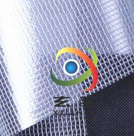 工廠現貨供應0.3厚1.52米、 1.37米寬布PVC透明夾網152平米起訂
