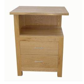 创豪工艺CF026S橡木床头柜
