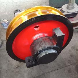 直径500单边车轮组 行车车轮组 起重机车轮组