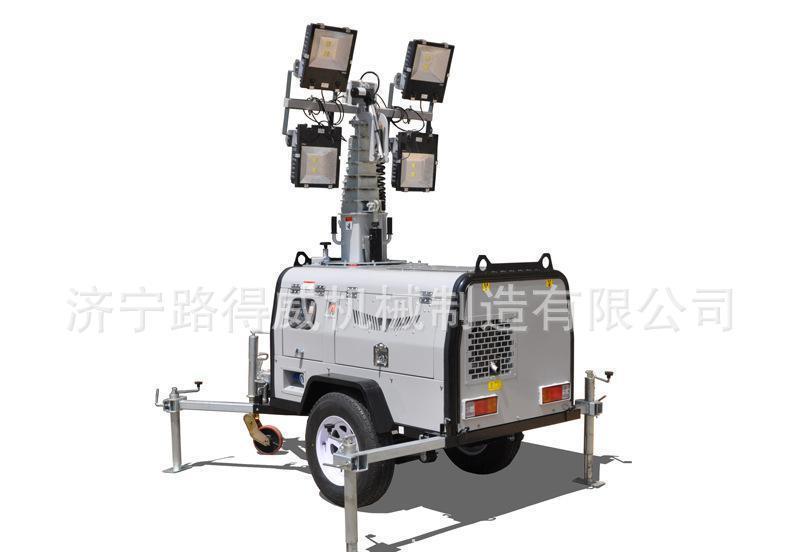 路得威液壓移動照明車RWZM61C,拖車式照明車
