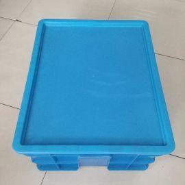 塑料周转箱盖子、塑料蓝色平盖 、塑料575盖子