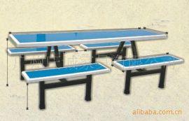 广州特价供应玻璃钢餐桌椅,不锈钢餐台椅,8人为食堂餐桌椅