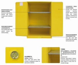 供应30加仑化学品安全柜 防爆柜 防火柜